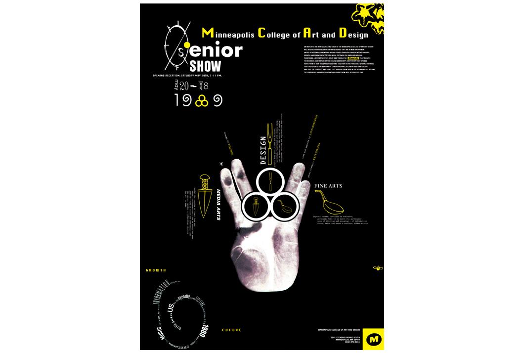 MCAD Senior Show Poster