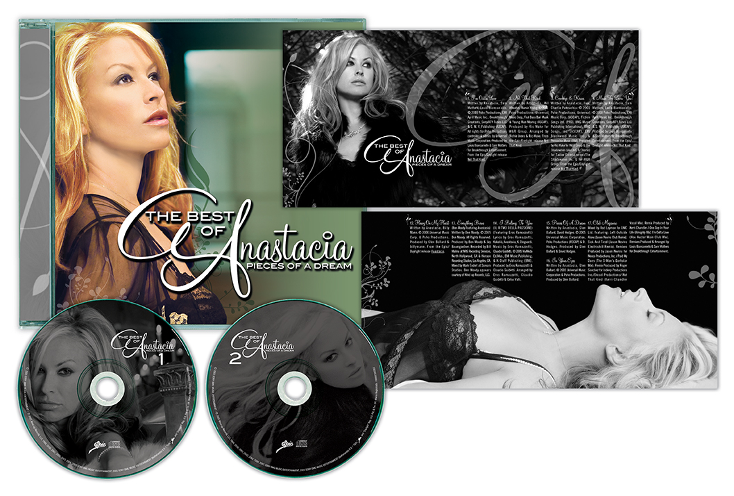 Anastacia Music Packaging